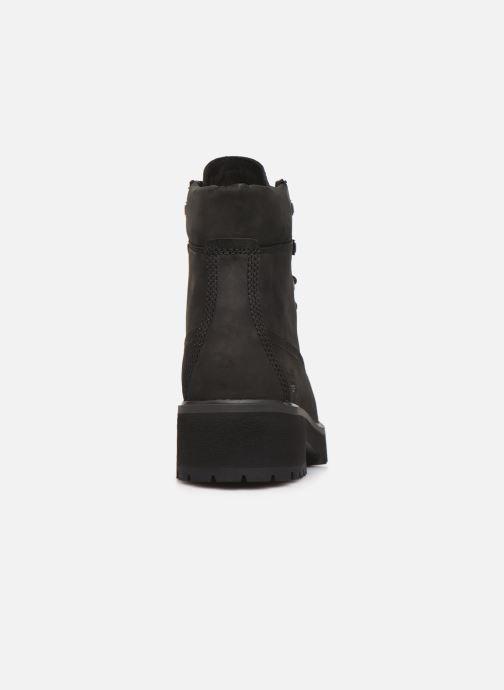 Bottines et boots Timberland Carnaby Noir vue droite