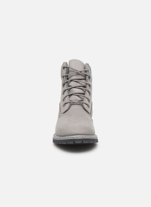 Bottines et boots Timberland 6in Premium Boot L/F Gris vue portées chaussures