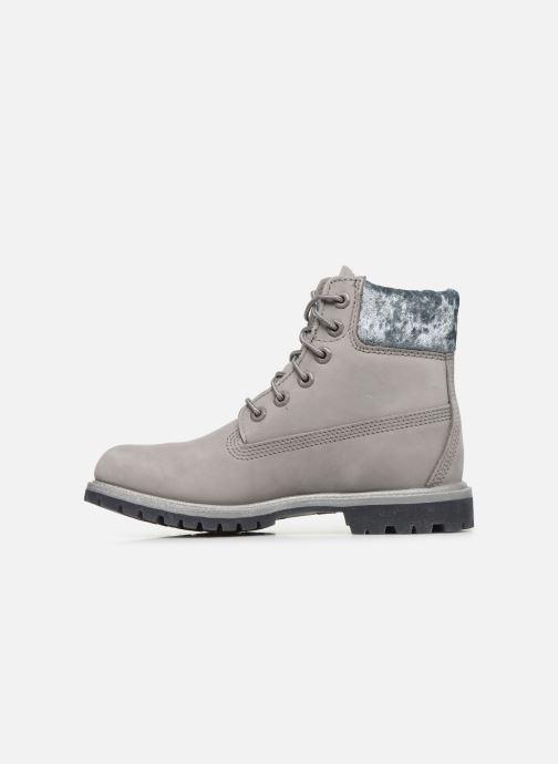 Boots en enkellaarsjes Timberland 6in Premium Boot L/F Grijs voorkant