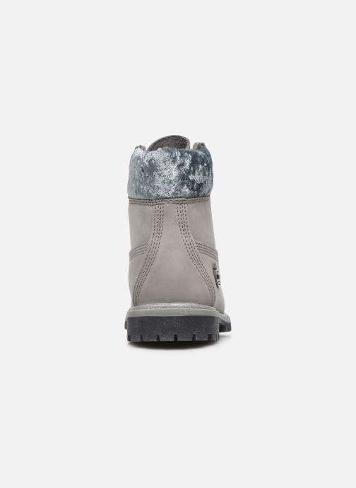 Boots en enkellaarsjes Timberland 6in Premium Boot L/F Grijs rechts