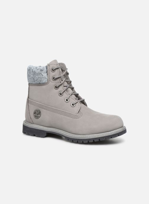 Botines  Timberland 6in Premium Boot L/F Gris vista de detalle / par