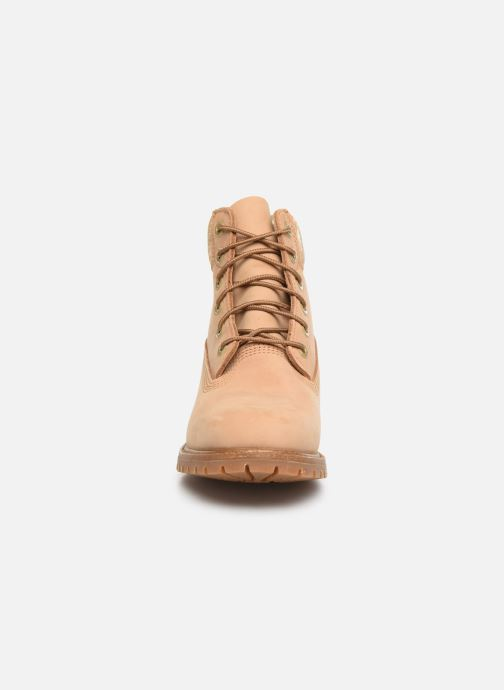 Bottines et boots Timberland 6in Premium Boot L/F Beige vue portées chaussures