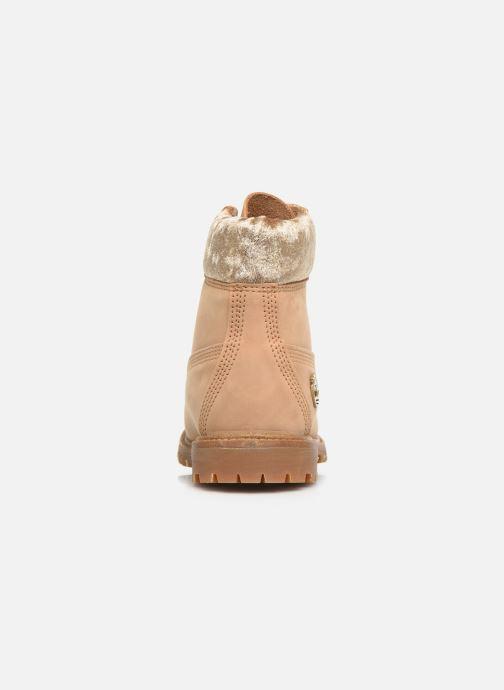 Boots en enkellaarsjes Timberland 6in Premium Boot L/F Beige rechts