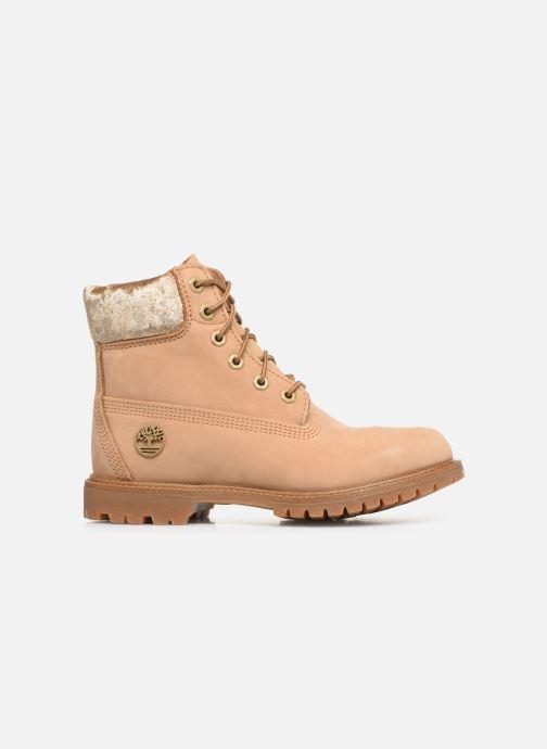 Boots en enkellaarsjes Timberland 6in Premium Boot L/F Beige achterkant