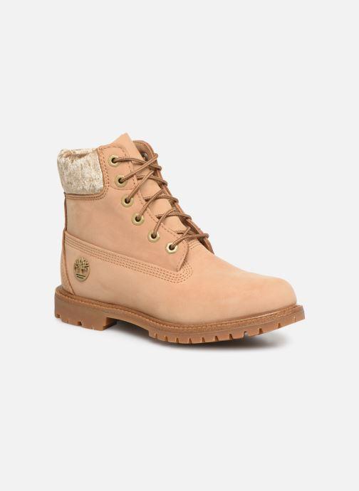 Bottines et boots Timberland 6in Premium Boot L/F Beige vue détail/paire