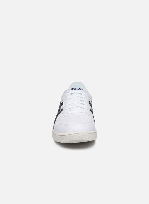 Baskets Asics Japan S M Blanc vue portées chaussures