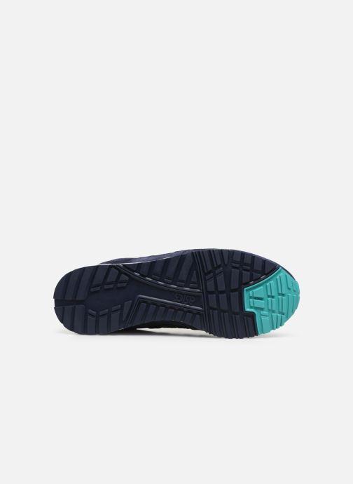 Baskets Asics Gelsaga M Bleu vue haut
