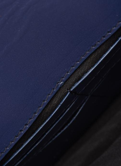 Sacs pochettes Rebecca Minkoff Blythe Wallet Xbody Bleu vue derrière