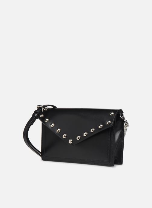 Bolsos Clutch Rebecca Minkoff Blythe Wallet Xbody Negro vista del modelo
