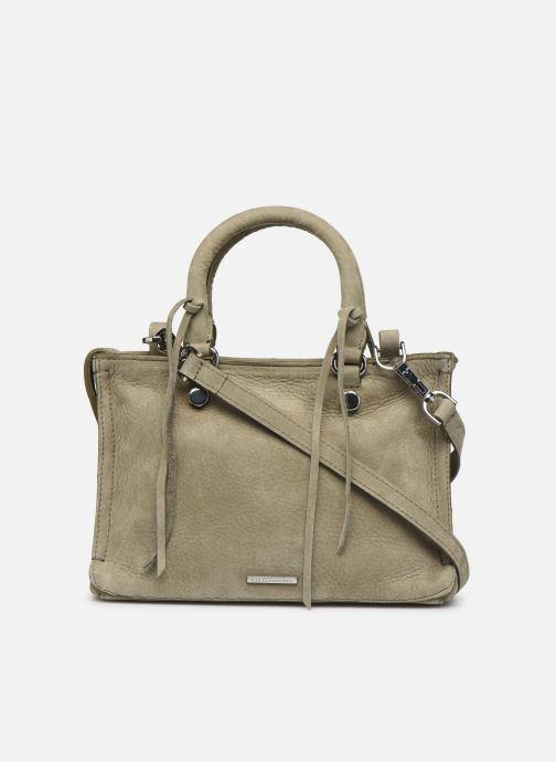 Handbags Rebecca Minkoff Mini Regan Satchel Green front view