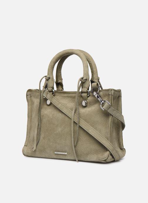 Handbags Rebecca Minkoff Mini Regan Satchel Green view from the right