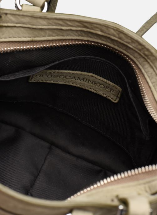 Handbags Rebecca Minkoff Mini Regan Satchel Green back view