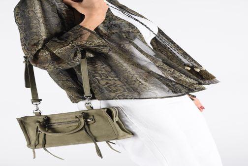 Handbags Rebecca Minkoff Mini Regan Satchel Green view from underneath / model view
