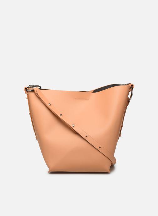 Handtassen Rebecca Minkoff Feedbag W Chain Handle Nappa Bruin voorkant