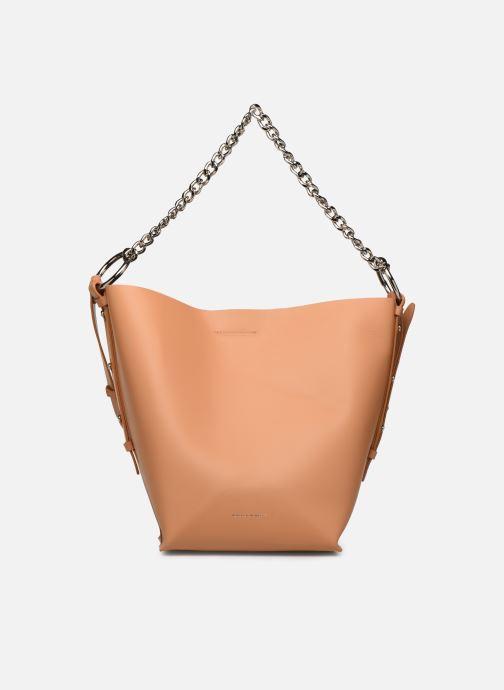 Handtassen Rebecca Minkoff Feedbag W Chain Handle Nappa Bruin detail