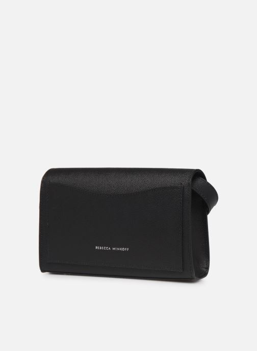 Pelletteria Rebecca Minkoff Jean Belt Bag Caviar Nero immagine destra