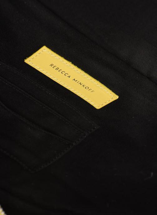 Pelletteria Rebecca Minkoff New Big Sling Nappa Giallo immagine posteriore