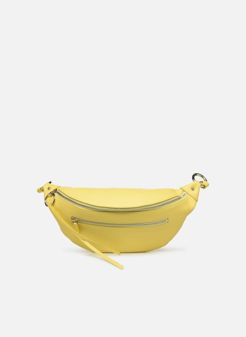 Petite Maroquinerie Rebecca Minkoff New Big Sling Nappa Jaune vue détail/paire