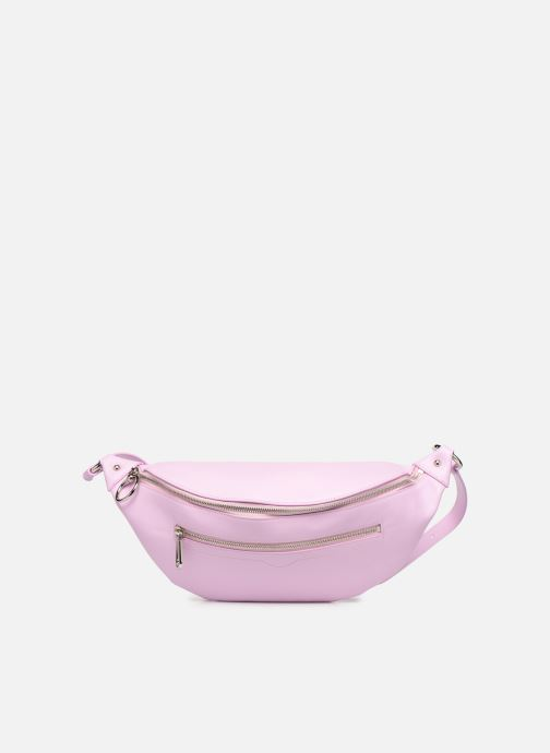 Petite Maroquinerie Rebecca Minkoff New Big Sling Nappa Rose vue détail/paire