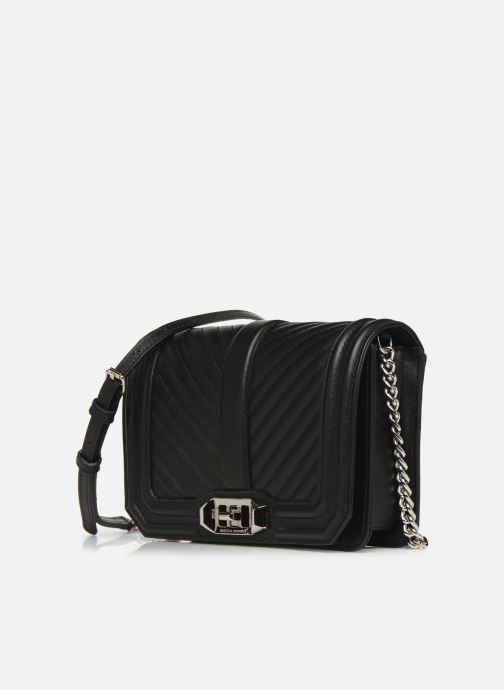Handtassen Rebecca Minkoff Small Love Crossbody Nappa Zwart model