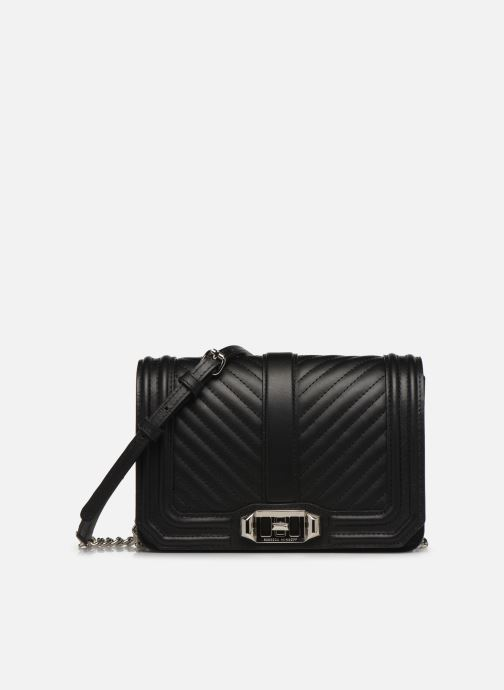 Handtassen Rebecca Minkoff Small Love Crossbody Nappa Zwart detail