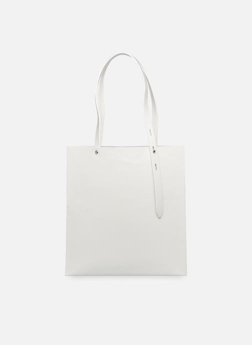 Handbags Rebecca Minkoff Uri Tote - Flat Pocket Tote Nappa White detailed view/ Pair view