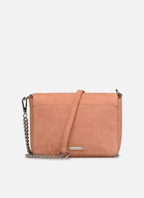 Clutch bags Rebecca Minkoff Lg Mab Flap Crossbody Beige front view