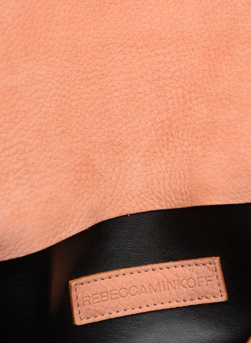 Clutch Rebecca Minkoff Lg Mab Flap Crossbody Beige achterkant