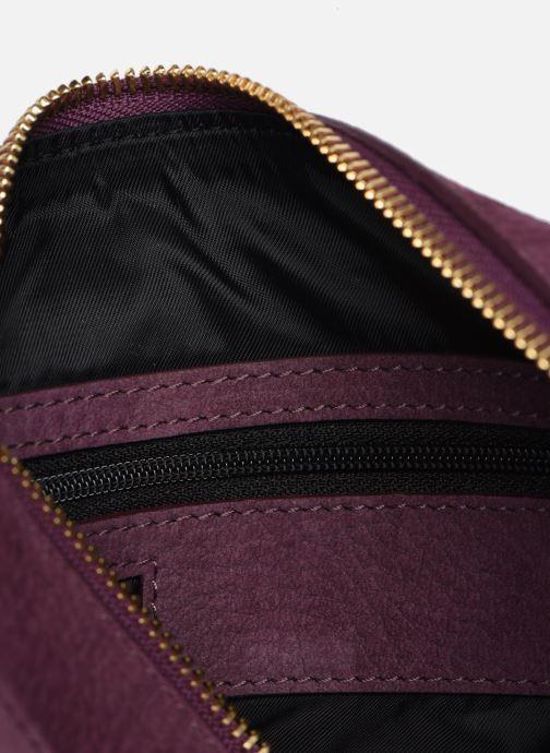 Sacs pochettes Rebecca Minkoff Mini Mac Nubuck Violet vue derrière