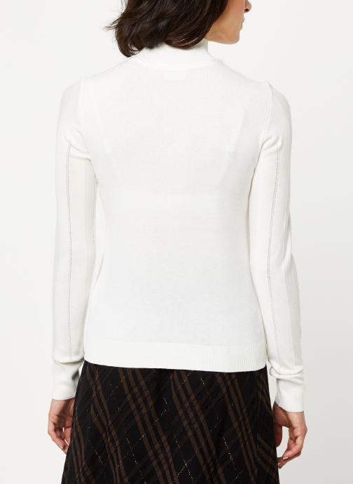 Vêtements Noisy May Nmjack Knit Blanc vue portées chaussures