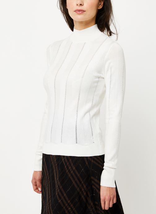 Vêtements Noisy May Nmjack Knit Blanc vue droite