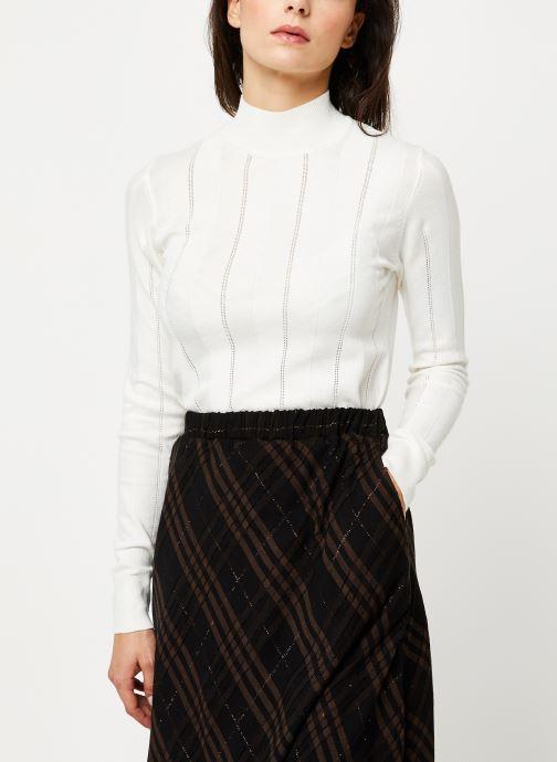 Vêtements Noisy May Nmjack Knit Blanc vue détail/paire