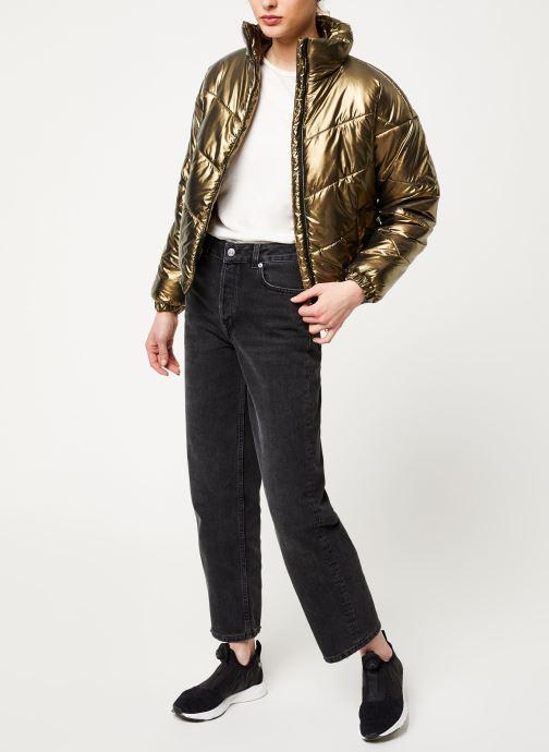 Vêtements Noisy May Nmcesei Jacket Or et bronze vue bas / vue portée sac