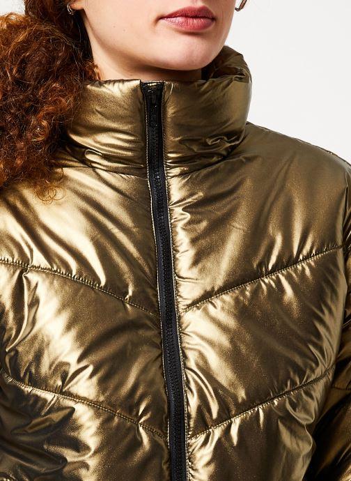 Vêtements Noisy May Nmcesei Jacket Or et bronze vue face