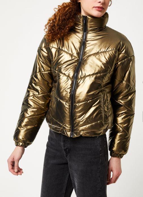 Vêtements Noisy May Nmcesei Jacket Or et bronze vue droite