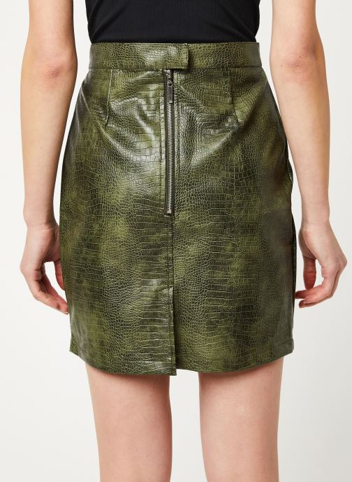Vêtements Noisy May Nmmissy Skirt Vert vue portées chaussures