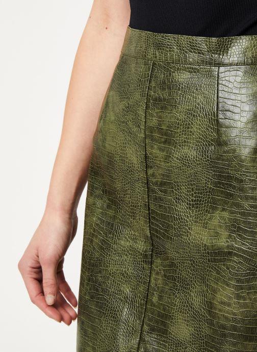 Vêtements Noisy May Nmmissy Skirt Vert vue face