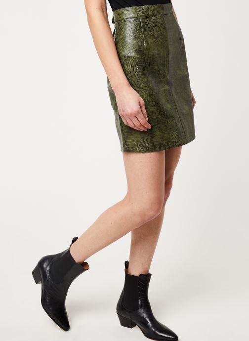 Vêtements Noisy May Nmmissy Skirt Vert vue détail/paire