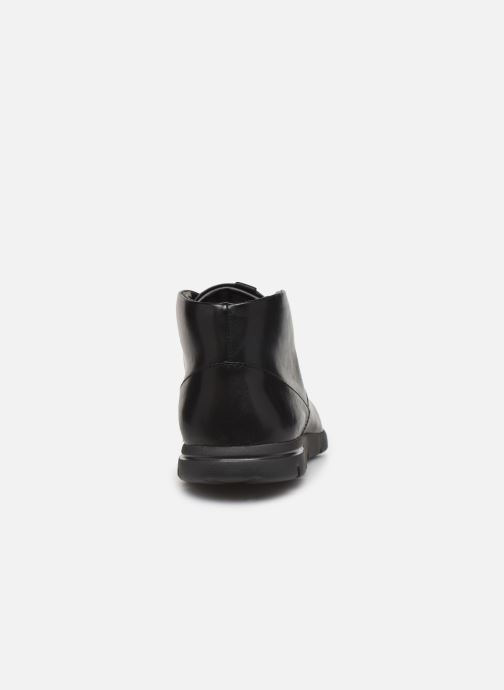 Bottines et boots Clarks Vennor Mid Noir vue droite