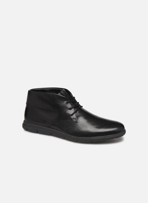 Ankelstøvler Clarks Vennor Mid Sort detaljeret billede af skoene