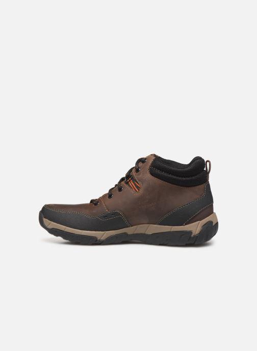 Bottines et boots Clarks Walbeck Top II Marron vue face