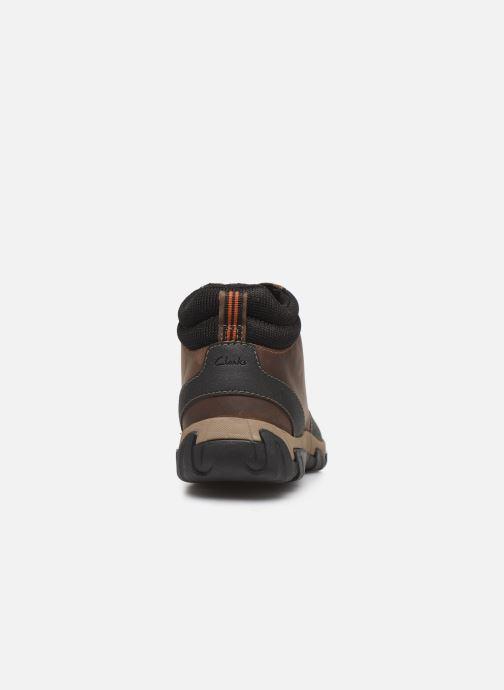 Bottines et boots Clarks Walbeck Top II Marron vue droite