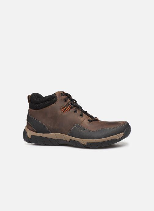 Bottines et boots Clarks Walbeck Top II Marron vue derrière