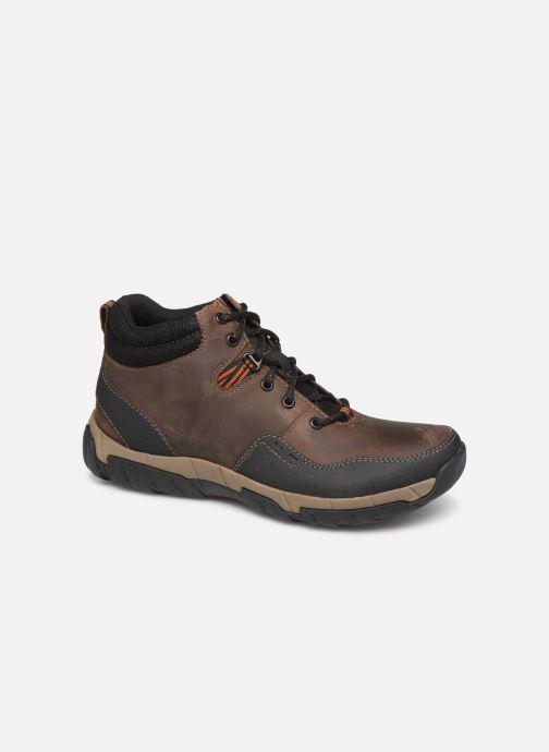 Ankelstøvler Clarks Walbeck Top II Brun detaljeret billede af skoene