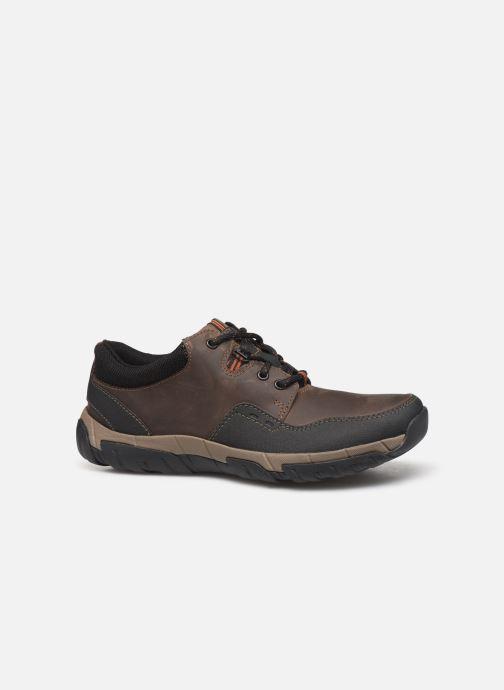 Sneakers Clarks WalbeckEdge II Bruin achterkant