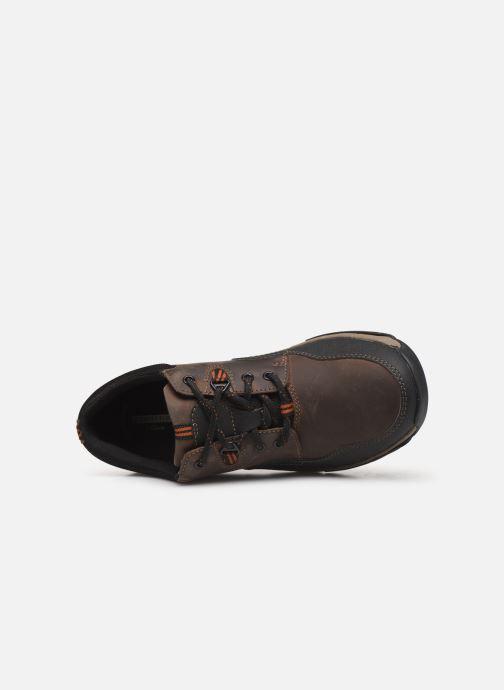 Sneakers Clarks WalbeckEdge II Bruin links