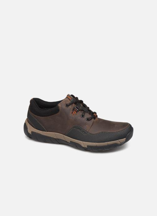 Sneakers Clarks WalbeckEdge II Bruin detail