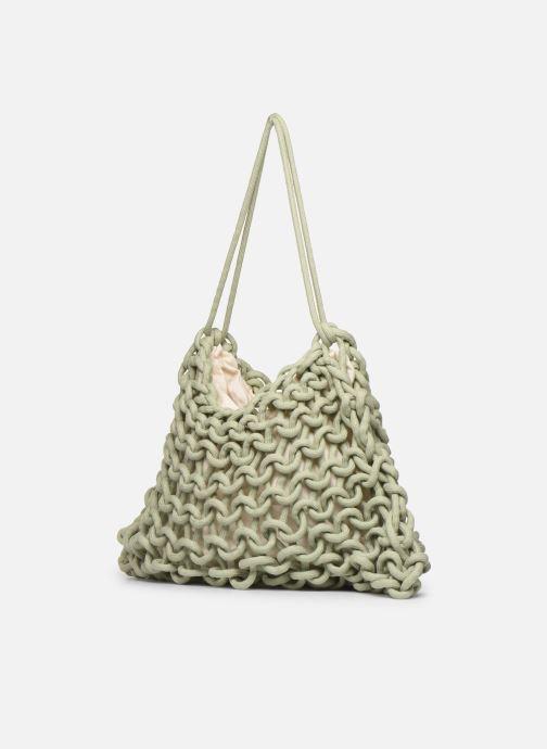 Handtaschen Alienina ALIA BAG grün ansicht von rechts