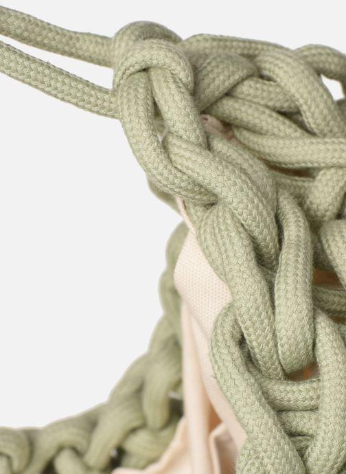 Handtaschen Alienina ALIA BAG grün ansicht von links