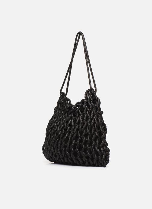Handtaschen Alienina SARA BAG schwarz ansicht von rechts